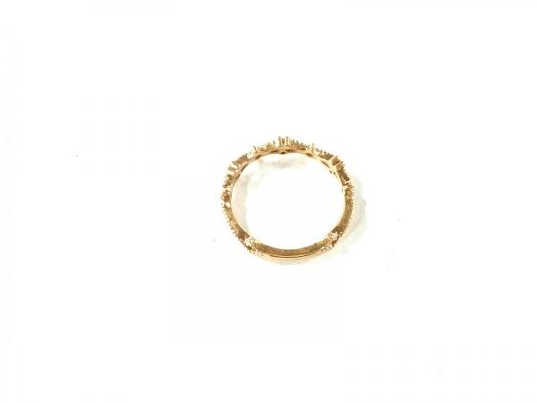 NOJESS(ノジェス) リング美品  K10YG×ダイヤモンド 3Pダイヤ/0.01カラット