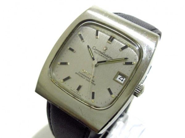 OMEGA(オメガ) 腕時計 コンステレーション クロノメーター - メンズ シルバー