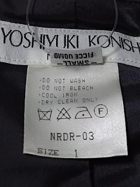 YOSHIYUKI KONISHI(ヨシユキコニシ) コート サイズ1 S レディース グレー 冬物