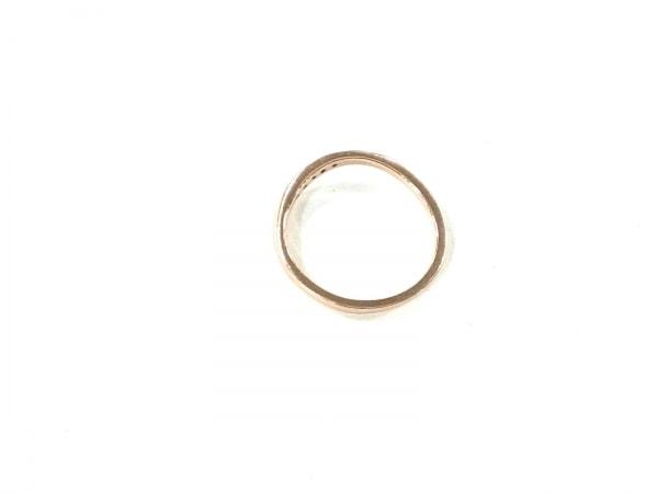 4℃(ヨンドシー) リング美品  K10×ラインストーン クリア