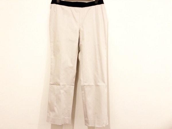 M.Fil(エム.フィル) パンツ サイズ40 M レディース ライトグレー×黒