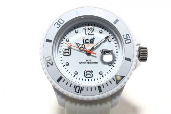 icewatch(アイスウォッチ) 腕時計 - レディース ラバーベルト 白