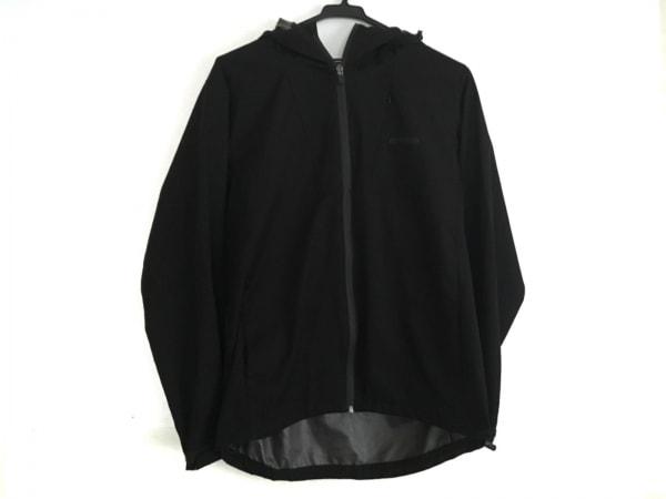 OUTDOOR(アウトドア) ブルゾン サイズM レディース美品  黒 ジップアップ/春・秋物