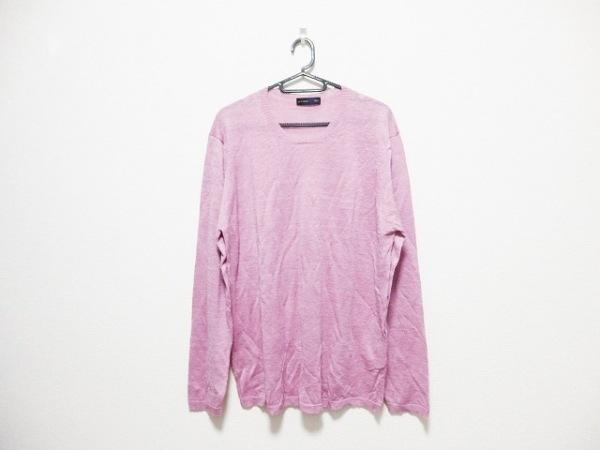 ETRO(エトロ) 長袖セーター サイズL メンズ ピンク