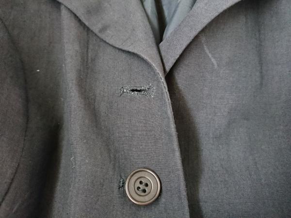 byblos(ビブロス) コート サイズ42 L レディース 黒 夏物