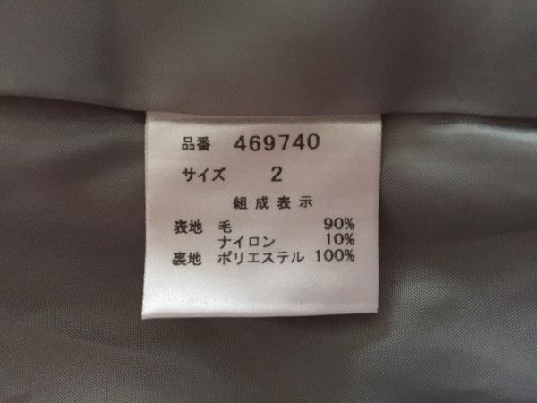 Aima+saie(アイマサイエ) コート サイズ2 M レディース ライトグレー