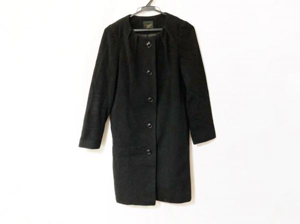 LAPIS LUCE BEAMS(ラピスルーチェビームス) コート サイズ36 S レディース 黒 冬物
