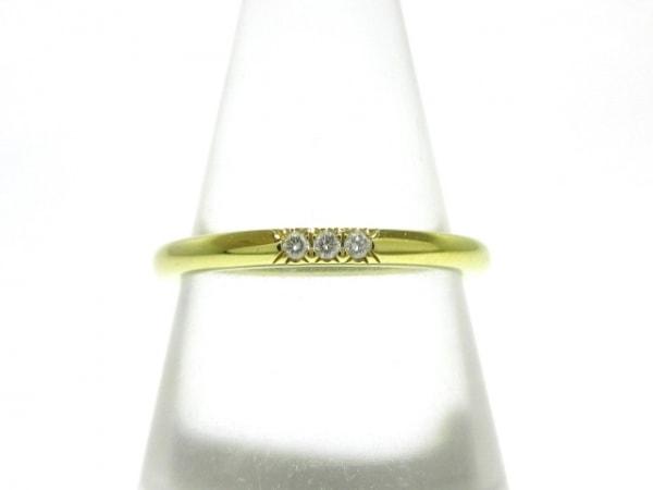 TIFFANY&Co.(ティファニー) リング美品  - K18YG×ダイヤモンド