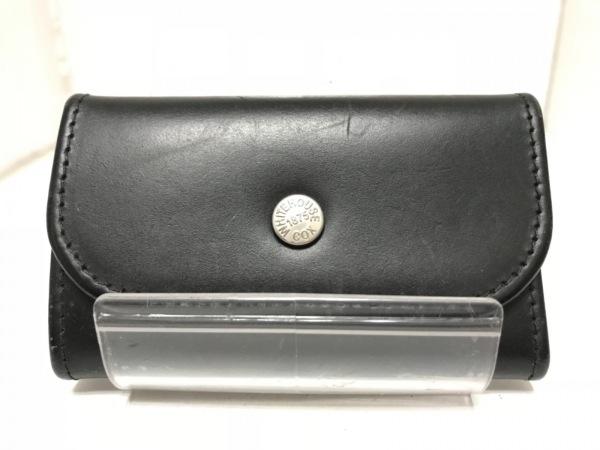 WhitehouseCox(ホワイトハウスコックス) キーケース 黒 4連フック レザー