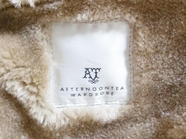 Afternoon Tea(アフタヌーンティー) コート サイズMR レディース美品  ブラウン 冬物