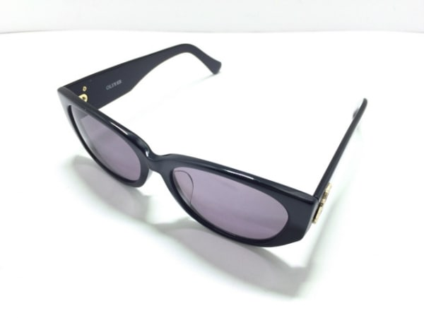 OLIVER(オリバーバレンチノ) サングラス 2003 パープル×黒 プラスチック