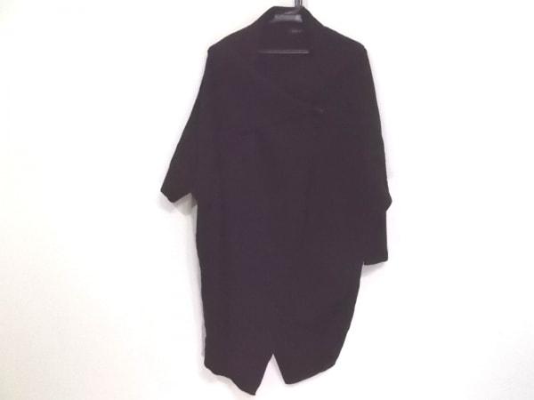 SCOTCLUB(スコットクラブ) コート サイズ9 M レディース 黒 ニット/春・秋物