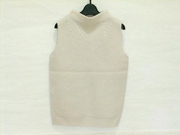 SACRA(サクラ) ノースリーブセーター サイズ38 M レディース ピンクベージュ