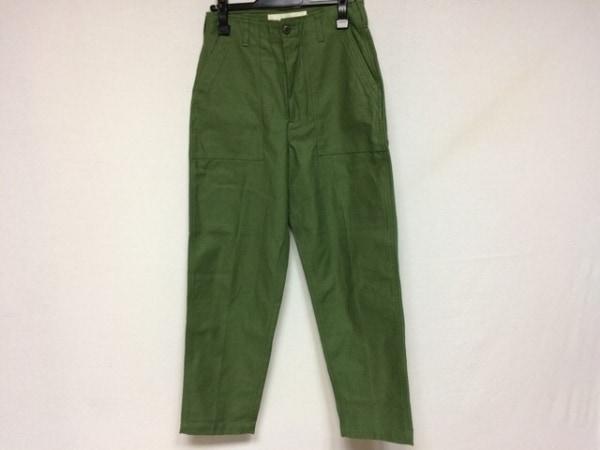 シンゾーン パンツ サイズ36 S レディース グリーン ベイカーパンツ/THE SHINZONE
