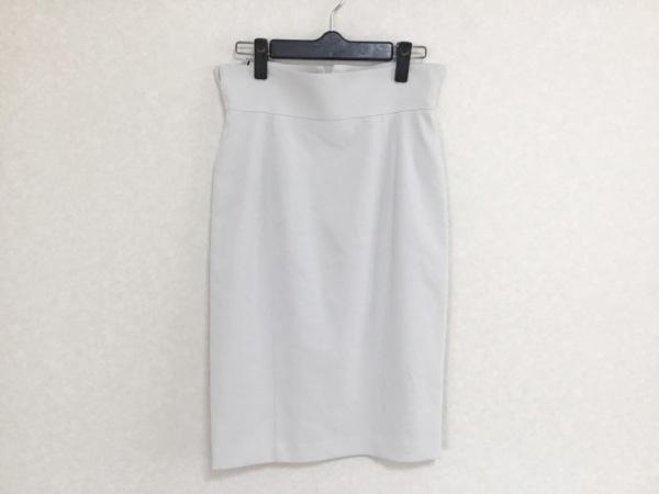 wb(ダブリュービー) スカート サイズ38 M レディース美品  ライトグレー
