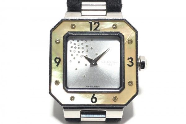 モーブッサン 腕時計 アムール・ル・ジュール・ス・レーヴ 9112101 レディース
