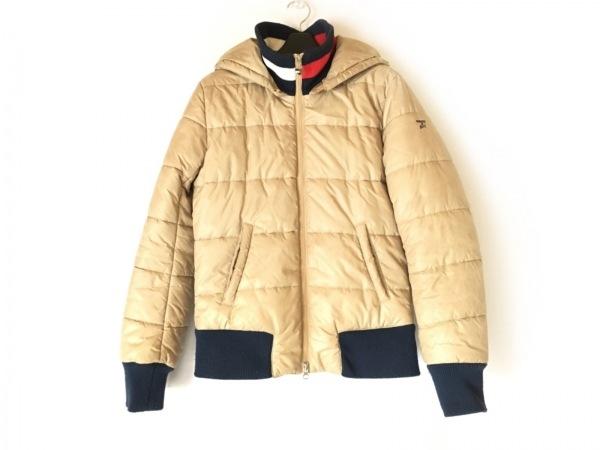 トミーガール ダウンジャケット サイズM レディース ベージュ ジップアップ/冬物