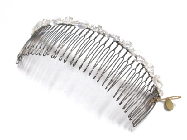 コレットマルーフ アクセサリー 金属素材×プラスチック シルバー×クリア