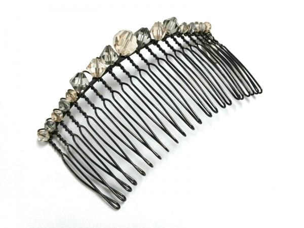 コレットマルーフ アクセサリー美品  金属素材×ラインストーン ヘアコーム/ビーズ