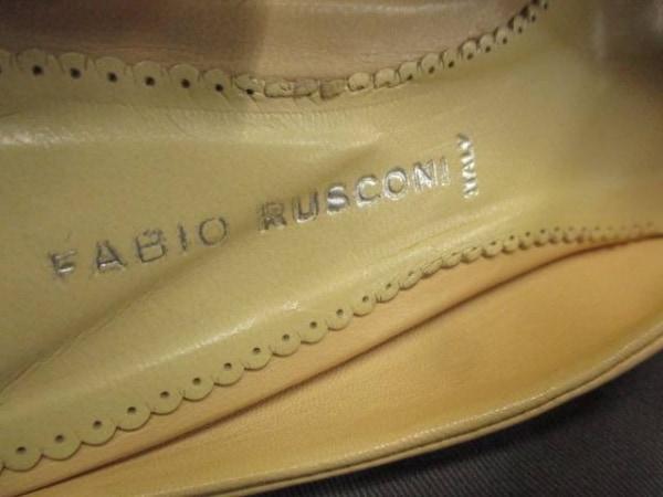 FABIO RUSCONI(ファビオルスコーニ) ミュール 36 レディース ベージュ レザー