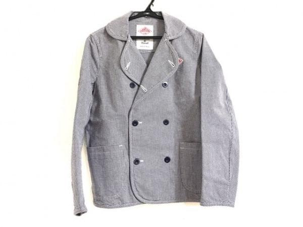 DANTON(ダントン) ジャケット サイズ36 S メンズ美品  黒×白 千鳥格子