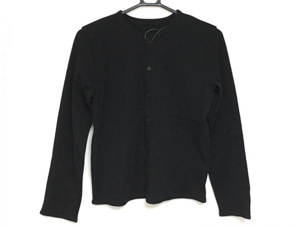 JURGEN LEHL(ヨーガンレール) カーディガン サイズL レディース美品  黒