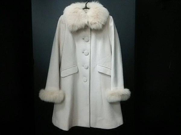 LAISSE PASSE(レッセパッセ) Pコート サイズ38 M レディース美品  ライトピンク 冬物