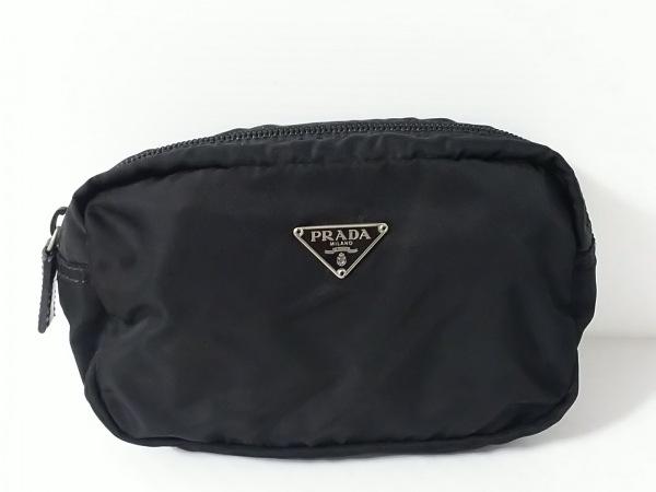 PRADA(プラダ) ポーチ - 黒 ナイロン