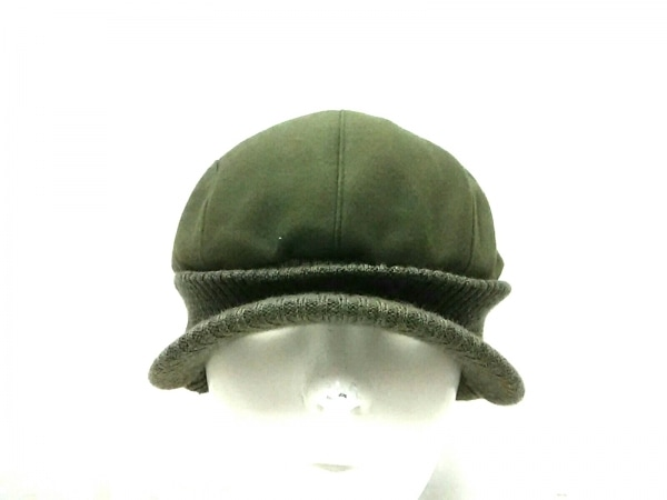 BURBERRYGOLF(バーバリーゴルフ) ハンチング カーキ レーヨン×ポリウレタン