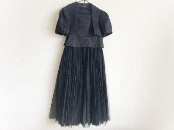 LagunaMoon(ラグナムーン) ワンピーススーツ サイズS レディース美品  黒