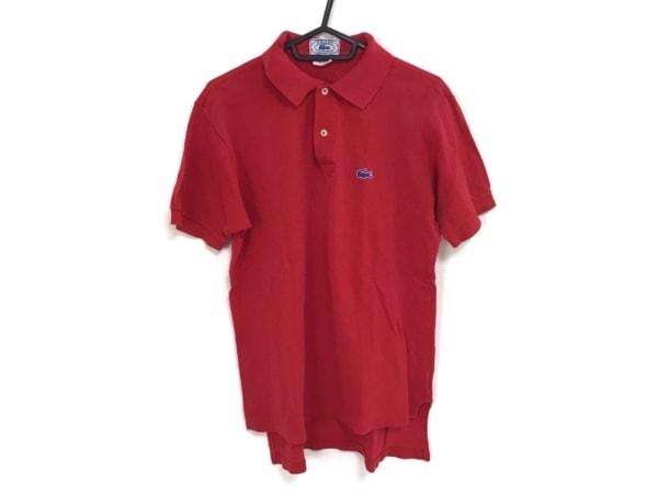 Lacoste(ラコステ) 半袖ポロシャツ メンズ レッド