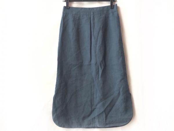 Chan Luu(チャンルー) ロングスカート サイズS レディース美品  ネイビー