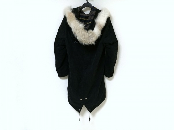 LUKER BY NEIGHBORHOOD(ルーカーバイネイバーフッド) コート メンズ 黒 ファー/冬物