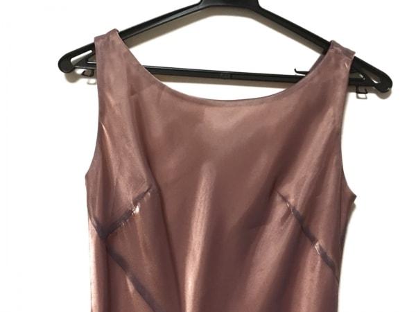 La Defence(ラデファンス) ドレス サイズ9 M レディース美品  ピンク マキシ丈