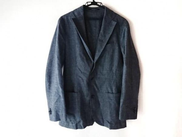 Takizawa Shigeru(タキザワシゲル) ジャケット メンズ ネイビー×ライトグレー