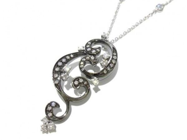 DAMIANI(ダミアーニ) ネックレス美品  K18WG×ダイヤモンド
