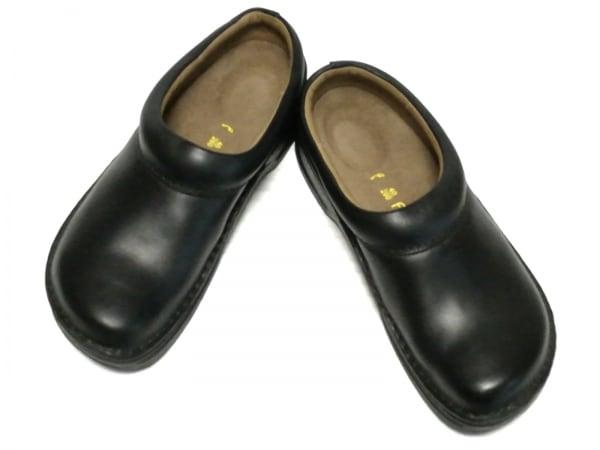 Footprints(フットプリンツ) シューズ 40 レディース美品  黒 レザー