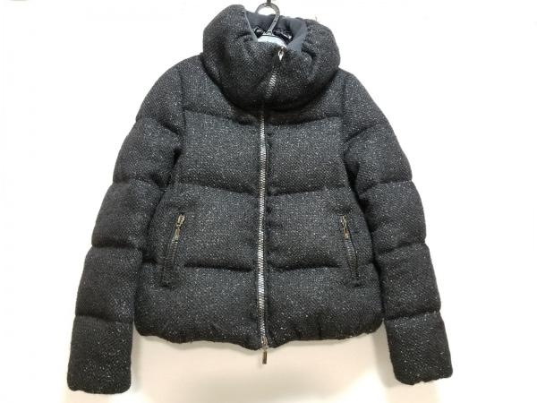 モンクレール ダウンジャケット サイズ0 XS レディース ラテル/RATEL 黒 ラメ/冬物