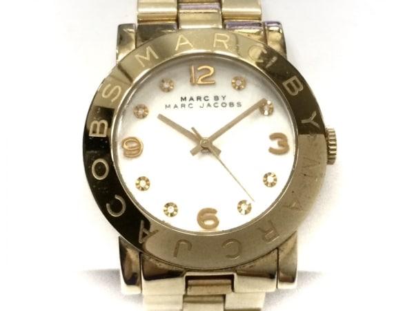 brand new 21f41 84f58 MARC BY MARC JACOBS(マークジェイコブス) 腕時計 MBM3056 メンズ 白