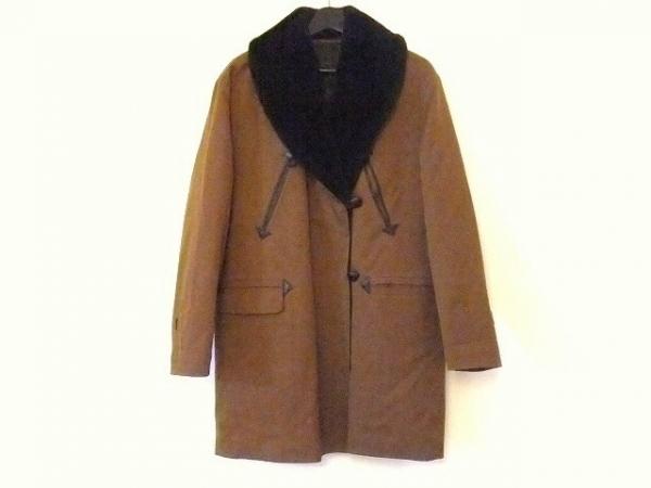 JeanPaulGAULTIER(ゴルチエ) コート サイズ40 M レディース ブラウン×黒 冬物