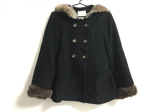 Rouge vif(ルージュヴィフ) コート サイズ36 S レディース 黒 ショート丈/冬物
