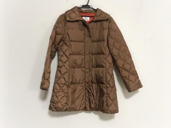 Seninon(セニノン) ダウンコート サイズ2 M レディース美品  ライトブラウン 冬物