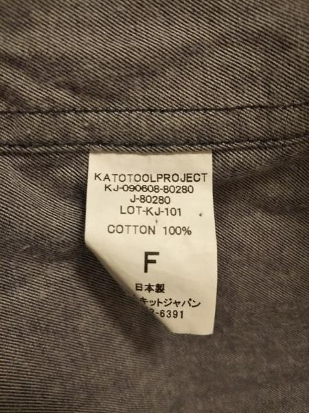 Kato'(カトー) コート サイズF レディース美品  ネイビー 春・秋物