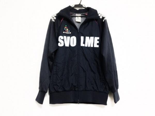 SVOLME(スボルメ) ジャージ サイズM レディース美品  ネイビー×ピンク×白