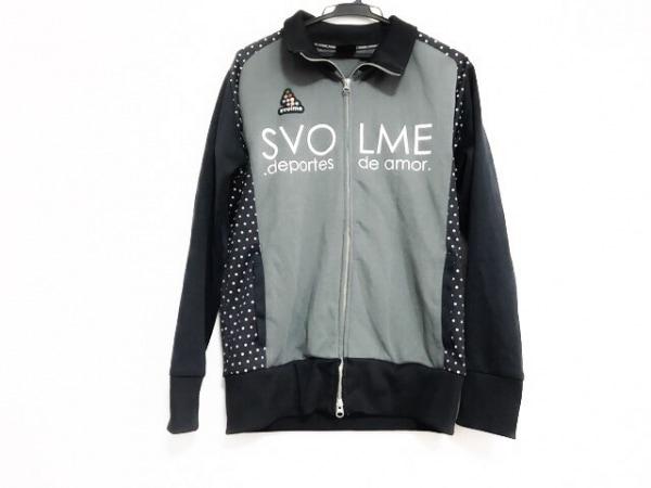 SVOLME(スボルメ) ジャージ サイズL レディース美品  グレー×黒×白