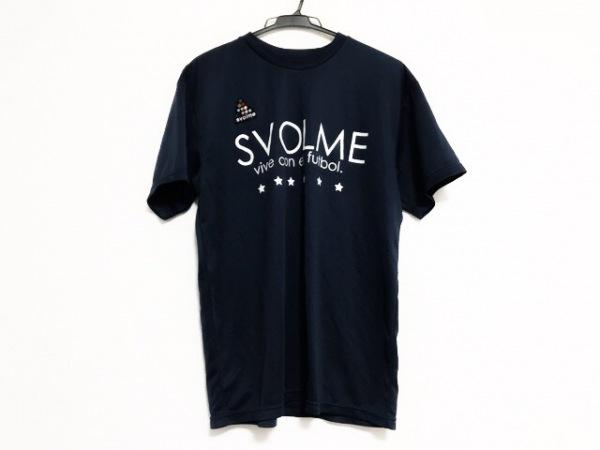 SVOLME(スボルメ) 半袖Tシャツ サイズL レディース美品  ネイビー×白 スター