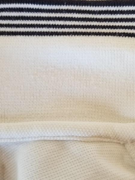 Shonanbo(ショーナンボー) 半袖ポロシャツ サイズM メンズ 白×マルチ
