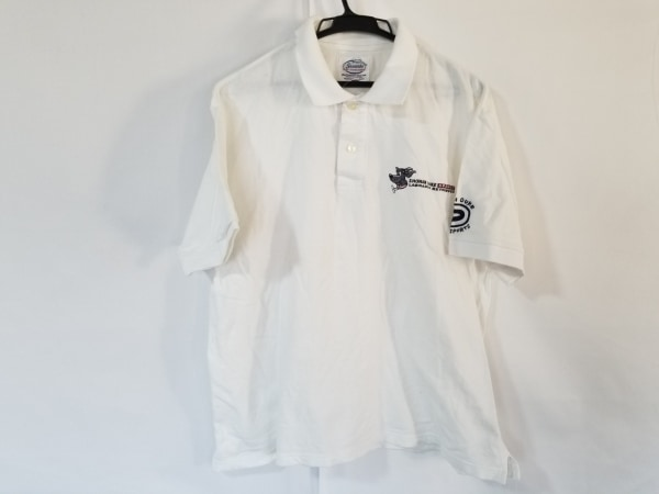 Shonanbo(ショーナンボー) 半袖ポロシャツ サイズM メンズ 白