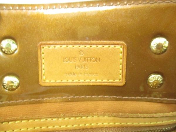 ルイヴィトン ハンドバッグ モノグラムヴェルニ リードPM M91146 ブロンズ