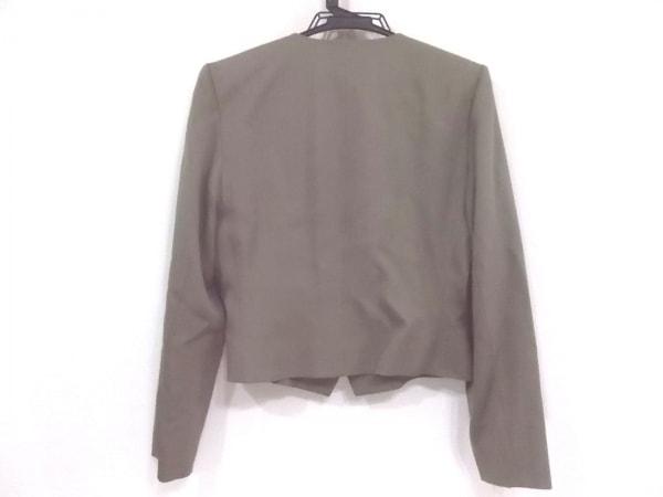 イヴサンローラン ジャケット サイズL レディース美品  ブラウン 肩パッド
